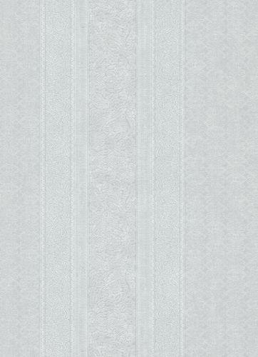 Vliestapete Ornament Streifen grau weiß 10071-31 online kaufen