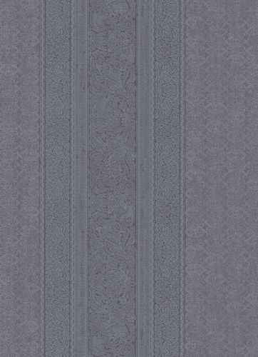 Wallpaper ornament stripes anthracite 10071-47 online kaufen