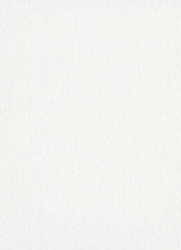 Wallpaper plain white silver 10072-01