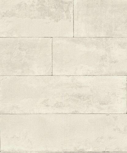 Vliestapete Rasch Stein-Optik hellgrau 426007 online kaufen