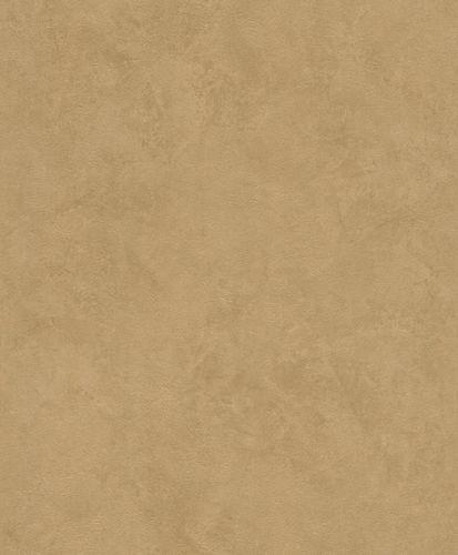 Non-woven wallpaper concrete optic plain gold-glossy 426144 online kaufen