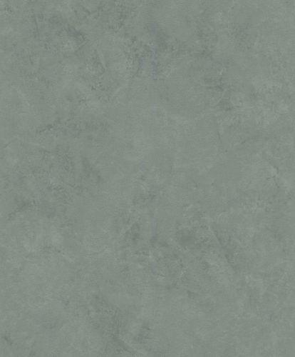 Non-woven wallpaper concrete optic plain grey-green 426175 online kaufen