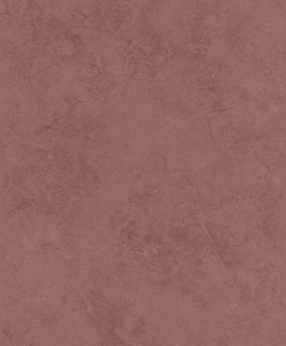Non-woven wallpaper concrete optic plain red-brown 426199 online kaufen