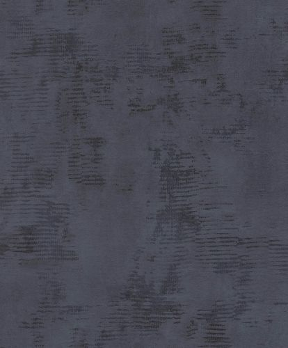 Non-woven wallpaper plaster optic used look black 426342