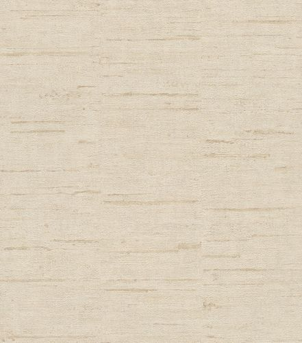 Non-woven wallpaper wood optic plain beige brown 426717