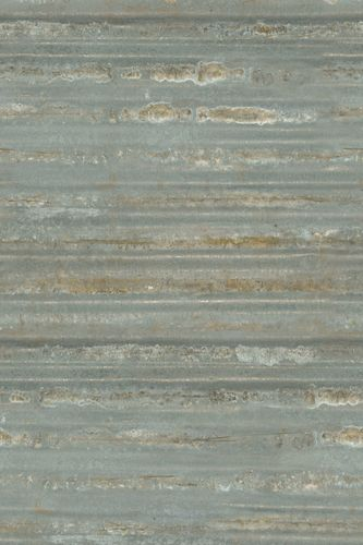 Photo wallpaper non-woven metal used grey bronze 425772