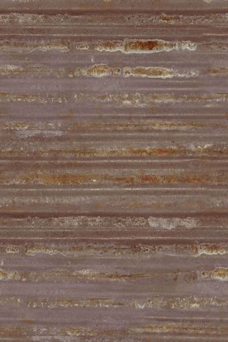 Photo wallpaper non-woven metal used brown copper 425789