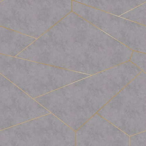 Photo wallpaper non-woven graphic lines grey 425819 online kaufen