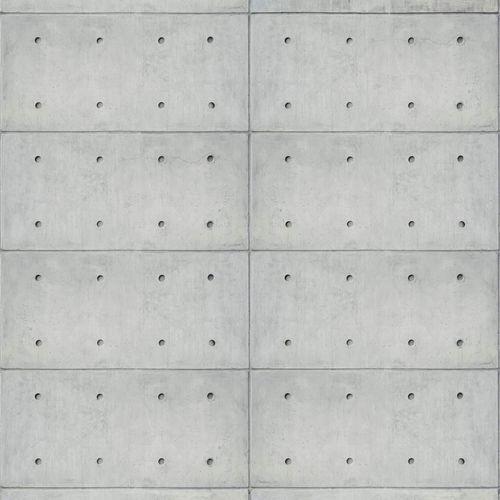 Fototapete Vlies Rasch Metallplatten grau 425826 online kaufen