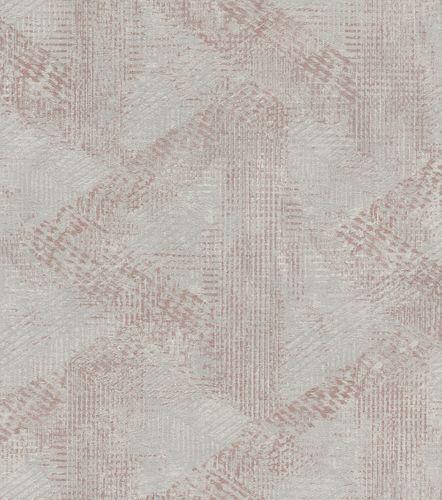 Wallpaper non-woven pattern vintage grey bronze 416824 online kaufen