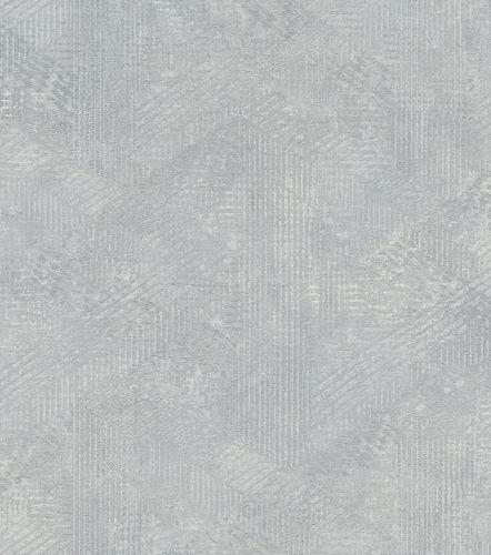 Wallpaper non-woven pattern vintage grey silver 416831