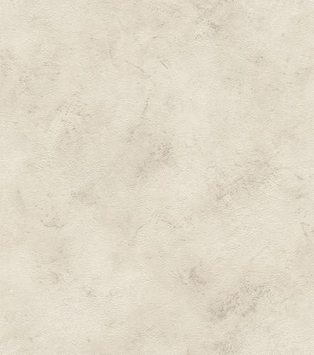 Wallpaper non-woven plain mottled taupe 416930