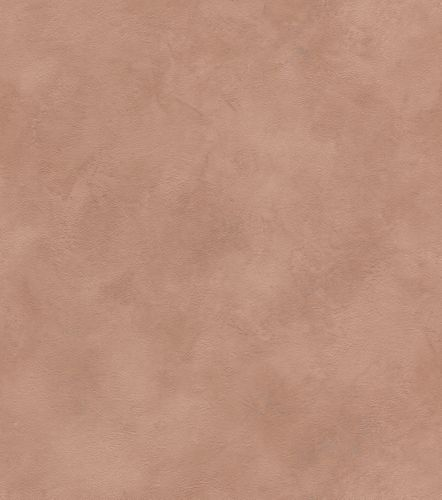 Wallpaper non-woven mottled plain light brown silver 417043