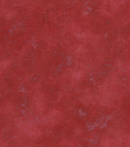 Wallpaper non-woven mottled plain red silver 417067