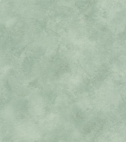 Wallpaper non-woven mottled plain pale green silver 417081 online kaufen