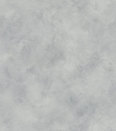 Wallpaper non-woven mottled plain grey silver 417128 online kaufen