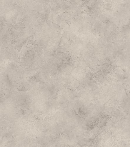 Wallpaper non-woven mottled plain creamgrey silver 417166 online kaufen