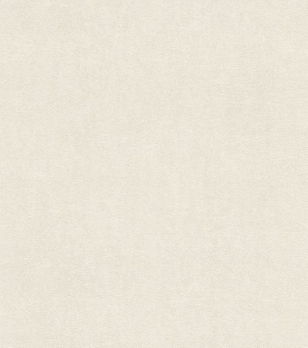 Non-woven wallpaper leather optic white 550009