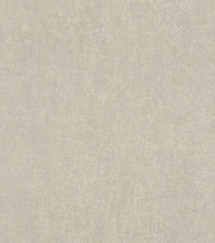 Non-woven wallpaper leather optic grey 550023