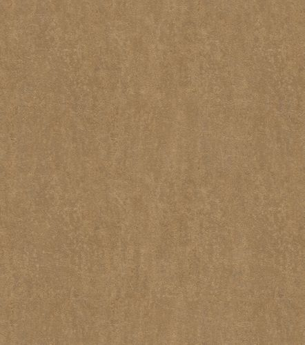 Non-woven wallpaper leather optic gold 550047