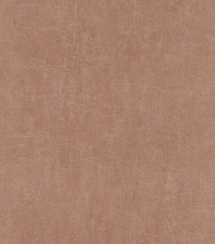 Non-woven wallpaper leather optic bronze 550054