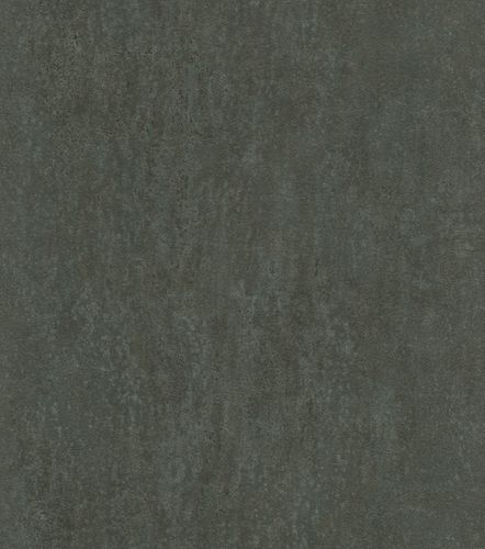Non-woven wallpaper leather optic dark green 550085 online kaufen