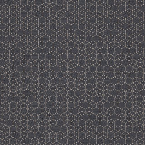 Non-woven wallpaper graphic black gold 550375 online kaufen