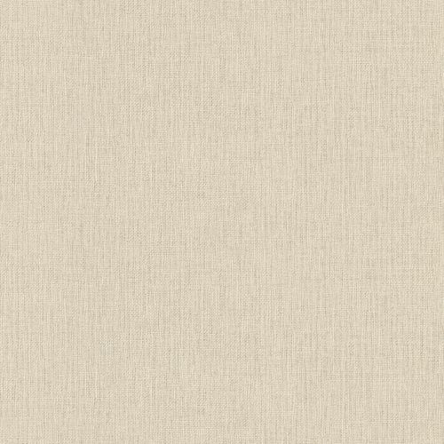 Non-woven wallpaper plain beige gold 550429