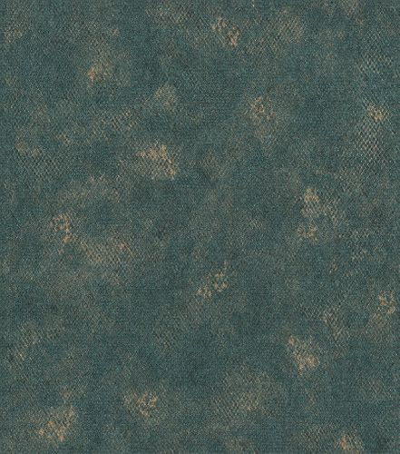 Non-woven wallpaper snake design dark blue 550696