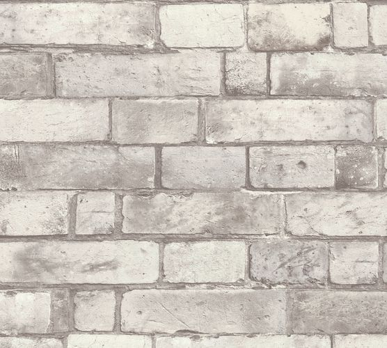 Self-adhesive wallpaper brick wall grey Panel 368491 online kaufen