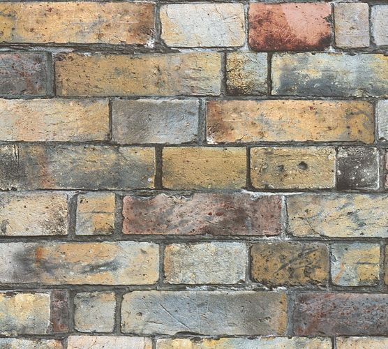 Self-adhesive wallpaper brick wall brown Panel 368501 online kaufen