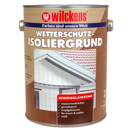 Wilckens Wetterschutz-Isoliergrund Weiß  2,5 L