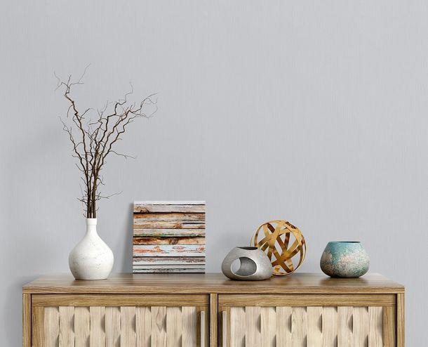 Non-woven wallpaper plain lightgrey Instawalls2 10080-31 online kaufen