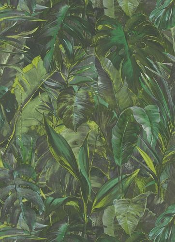 Non-woven wallpaper jungle green Instawalls 2 10081-07