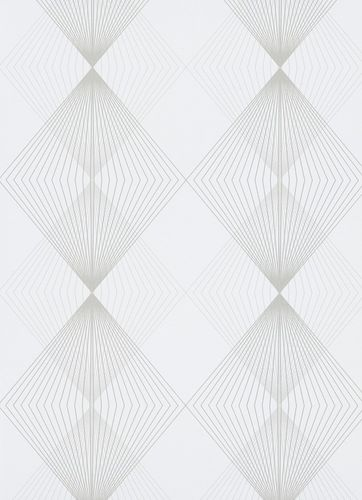 Non-woven wallpaper graphic white Instawalls 2 10085-14