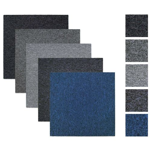 Balta carpet tiles carpet panels Rocket anthracite 50x50 cm