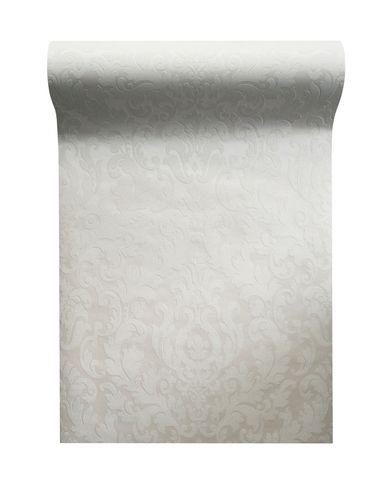 Non woven wallpaper baroque white glitter 64795 online kaufen