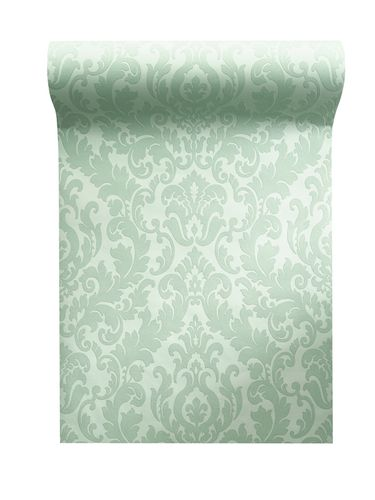 Non woven wallpaper baroque mint green glitter 64797 online kaufen