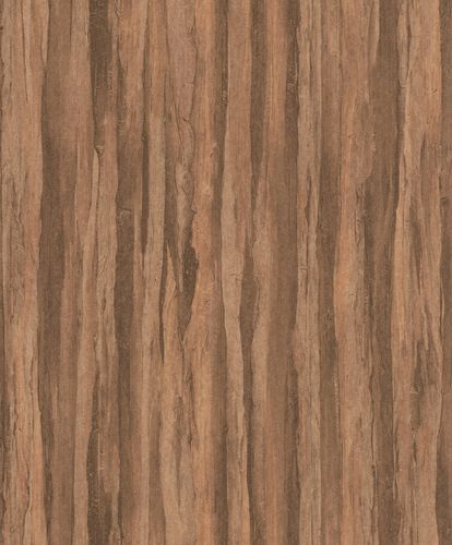 Non-Woven Wallpaper Wood Vintage brown 298566