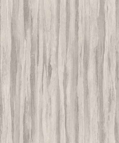 Non-Woven Wallpaper Wood Vintage light grey 298597