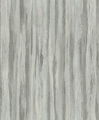 Non-Woven Wallpaper Wood Vintage grey green 298603
