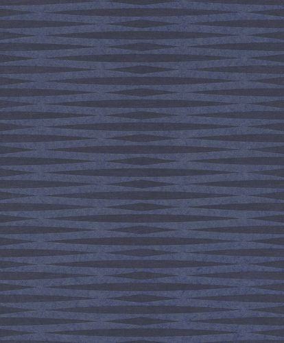 Non-Woven Wallpaper Graphic blue Metallic 298696 online kaufen