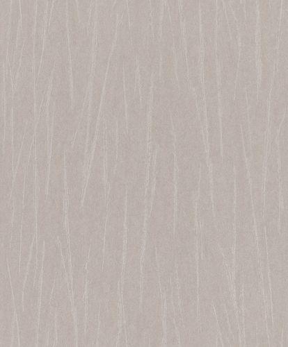 Non-Woven Wallpaper Strokes taupe Metallic 298740