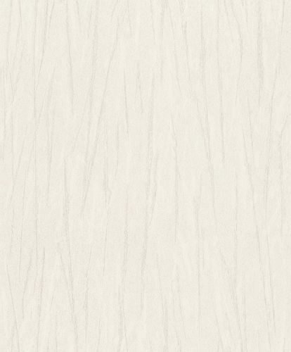 Non-Woven Wallpaper Strokes beige grey metallic 298795