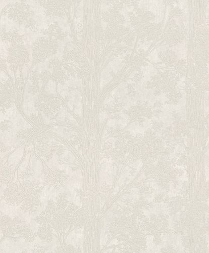 Non-Woven Wallpaper Trees grey metallic 298801 online kaufen