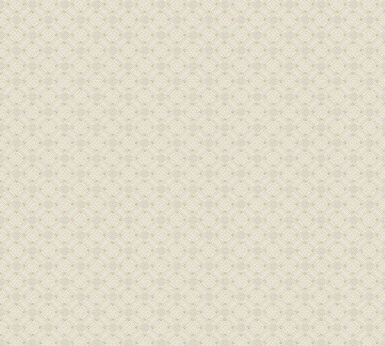Non-Woven Wallpaper Circles Dots cream white 37468-3 online kaufen