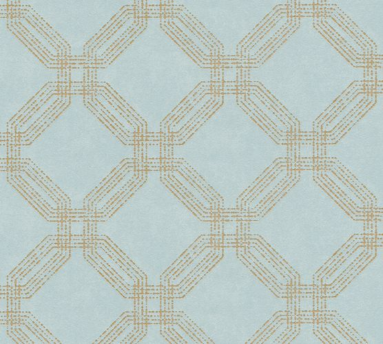 Non-woven wallpaper graphic modern bluegrey 37477-2 | 374772
