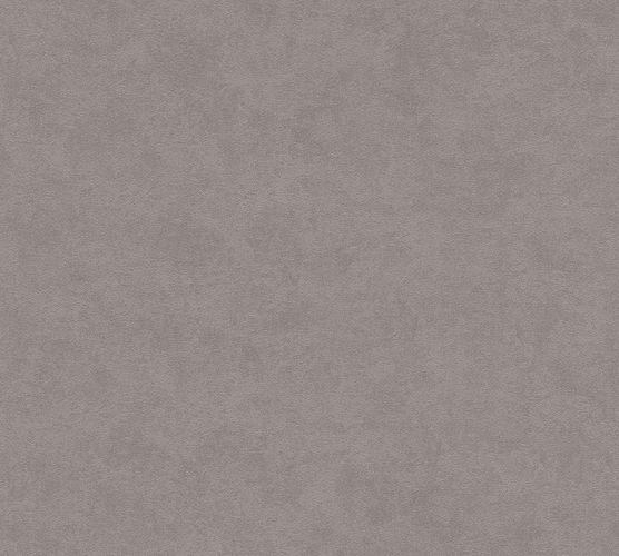 Non-woven wallpaper plain dark taupe 3750-18 | 375018