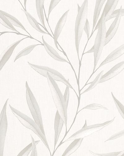 Non-Woven Wallpaper Leaves Floral beige cream 32202