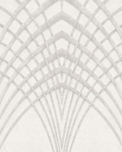 Non-Woven Wallpaper Art Deco Design grey beige 32254